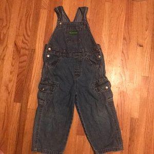 John Deere Denim Overalls size Kids 3T
